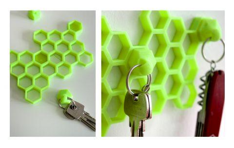 ORGANIZER KLUCZY #3d #3dprinting #key #organizer #keykeeper