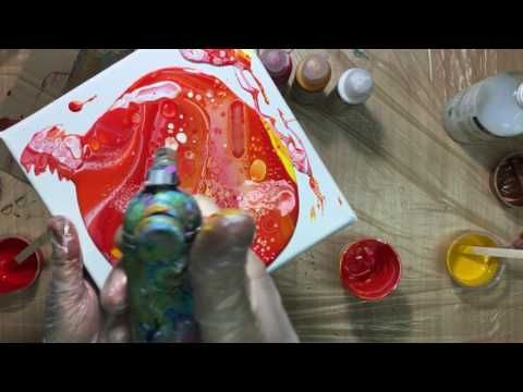 (19) ( 258 ) Testing Vallejo artist fluid acrylics part 2 - YouTube