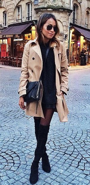 Complete a Sophisticated Trench Coat
