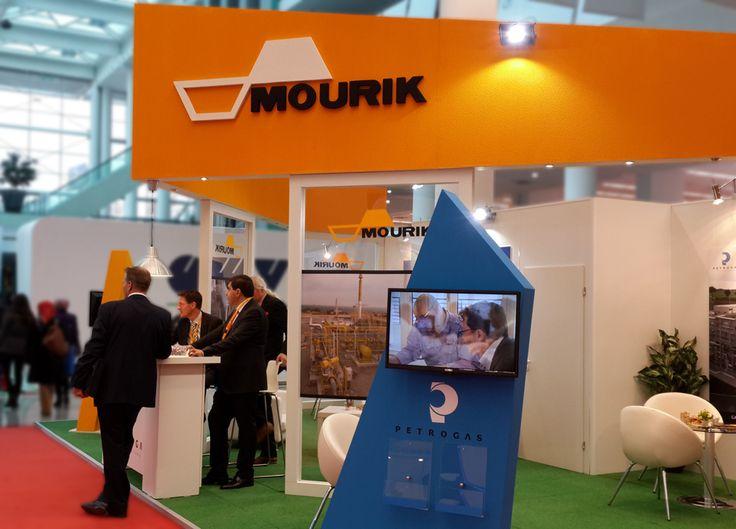 Uluslararası Enerji Kongresi ve Fuarı EIF 2014 MOURIK & Petrogas Standı / International Energy Congress & Expo 2014 / Ankara Fuar Standı / Exhibition Design