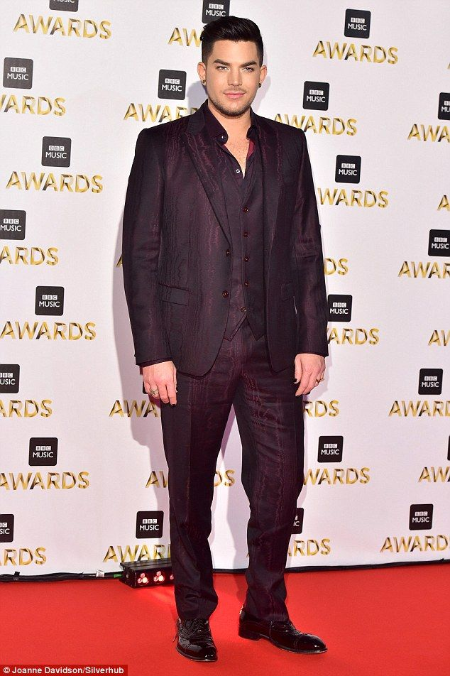 BBC Music Awards : Adam Lambert