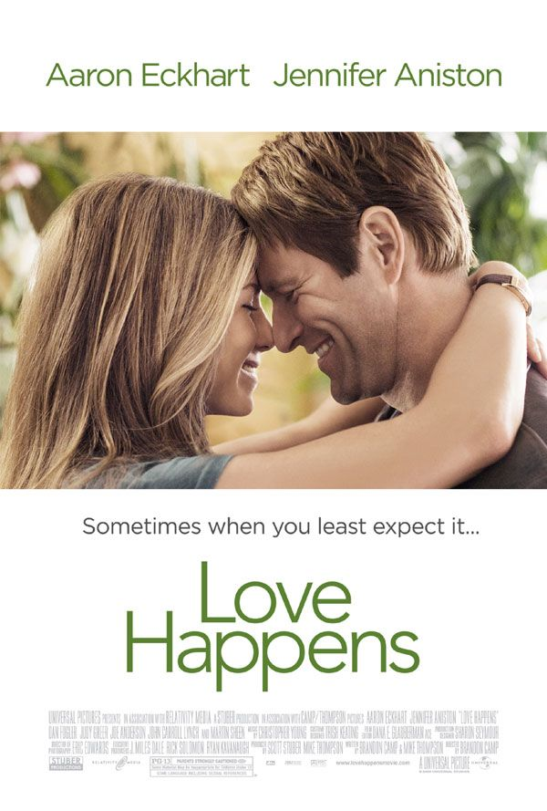 LOVE HAPPENS: Jennifer Aniston, Aaron Eckhart, Dan Fogler - 2009