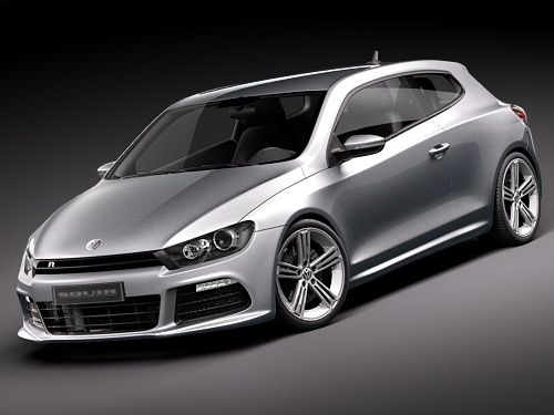 Captivating Volkswagen Scirocco R 2010 Sports Car Model