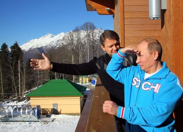 He beholds the beauty of nature. | 32 Pictures That Prove Vladimir Putin Is Only Human
