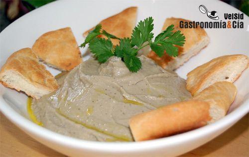 Baba Ghanoush (pasta de berenjenas)