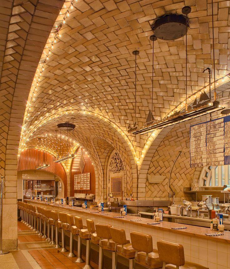 Grand Central Oyster Bar & Restaurant, New York (1913). Fotografía © Michael Freeman
