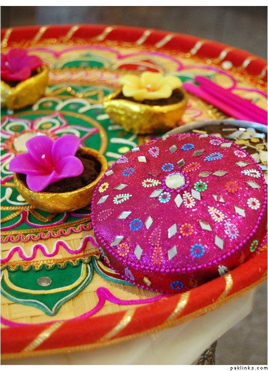 Mehndi Thaals Bengali Weddings : Best images about mehndi setup on pinterest