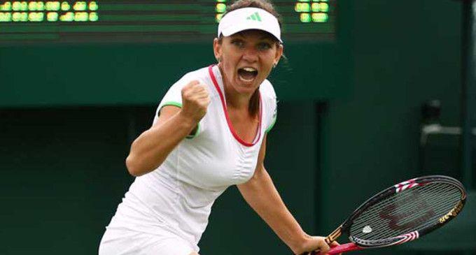 TENIS Simona Halep n-a stat la discuţii cu brazilianca Pereira şi a trecut lejer în turul doi la Wimbledon