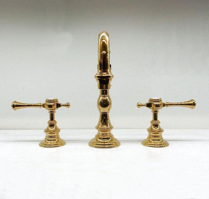 3 loch waschtischarmatur chateau du robinet anthea horus. Black Bedroom Furniture Sets. Home Design Ideas