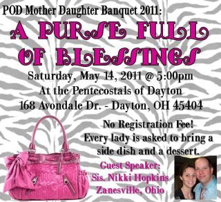 Faith in Action: Mother/Daughter Banquet