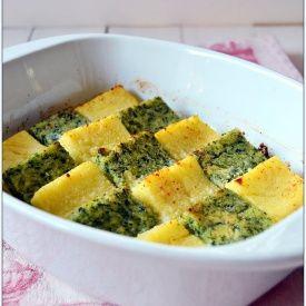 Gnocchi alla romana bigusto con salsa alle noci. Condivisa da: http://golosatentazione.blogspot.it