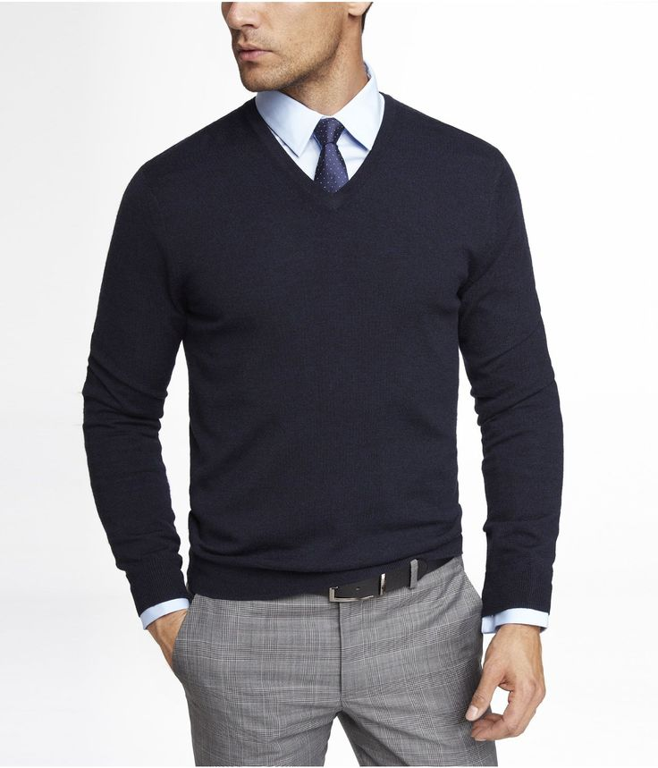 A sweater vest with dress slacks, shirt, belt, shoes, and a tie could be a possible look for a young professional like a lawyer that is looking to be a bit more casual and less imposing.