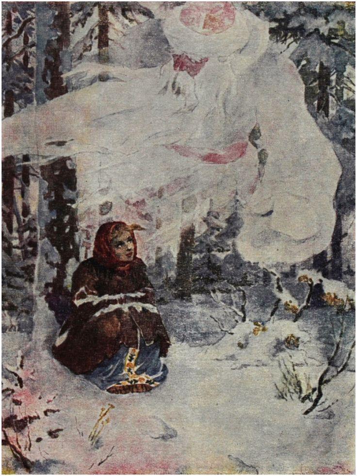 Morozko.c.1957.  Artist : Ivanov