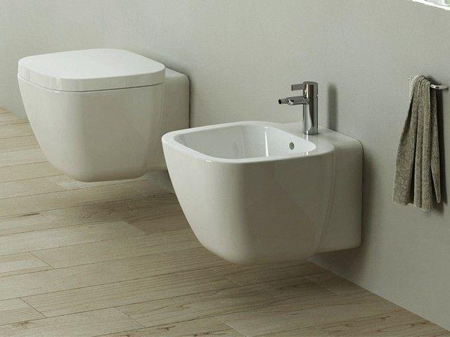 Oslo wc sospeso sanitari bagno sospesi pinterest oslo - Produttori sanitari da bagno ...