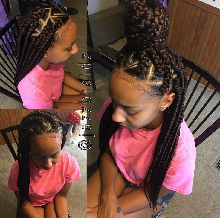 box braid styles ideas