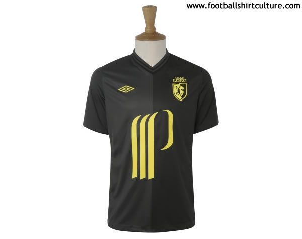 Lille OSC 12/13 umbro third football shirt // BADUT ASYIK
