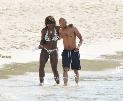 Serena Williams and Common - 40 Black Couples That We Love