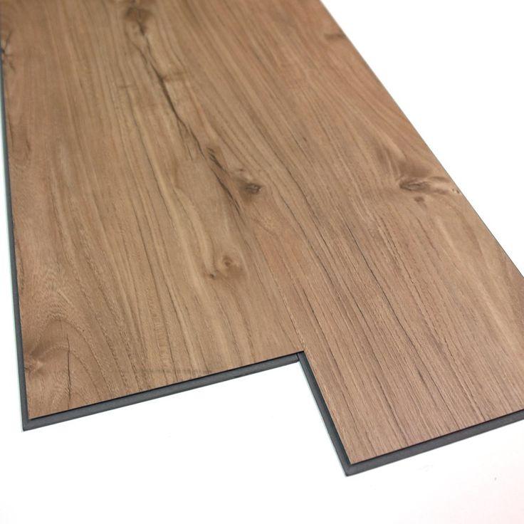 Perfect VersaClic 6 In X 48 In Appalachian Oak Floating Vinyl Plank | Loweu0027s Canada