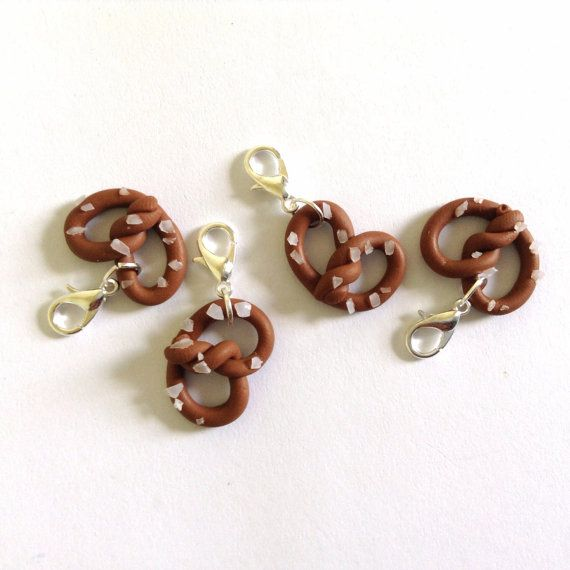 Crochet Stitch Markers Uk : pretzels stitch markers for crochet, row markers