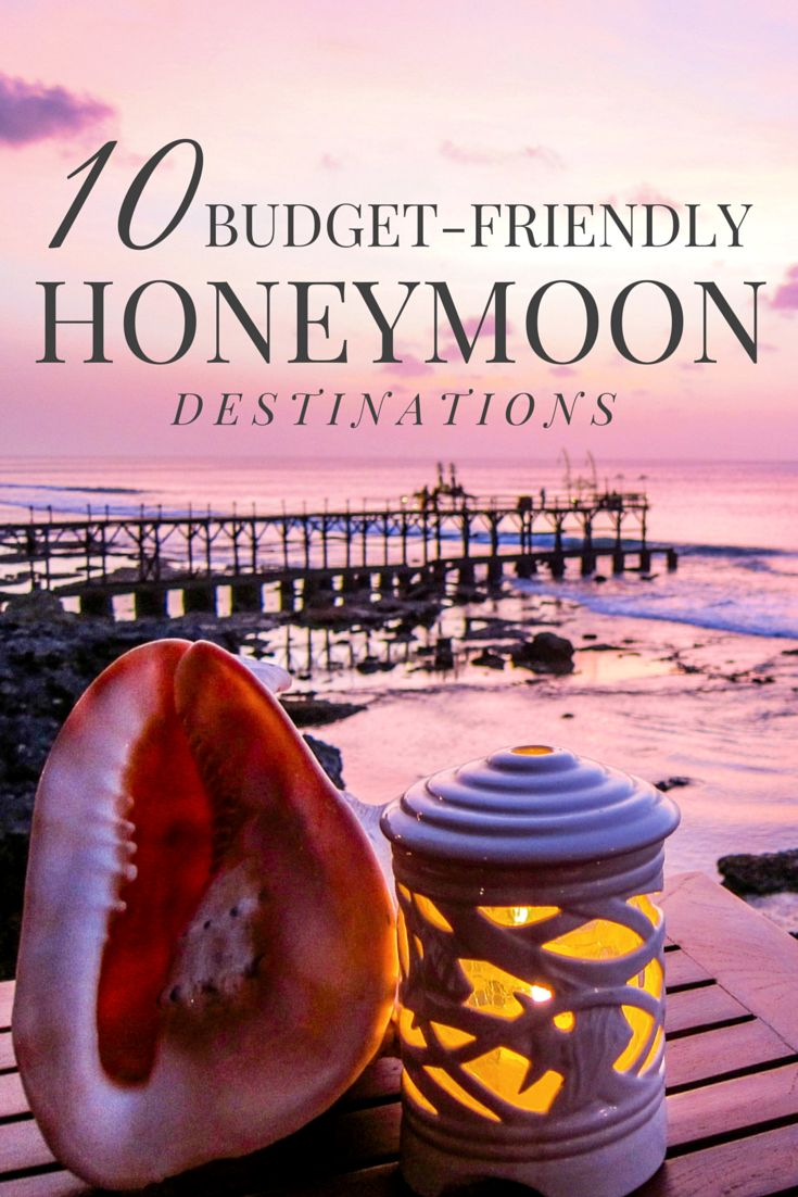 Even after a big wedding, there's no need to skimp on a honeymoon. Here are some budget-friendly honeymoon destinations around the world.
