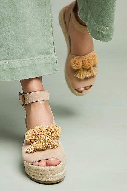 e43eb52fa404 Soludos x Anthropologie Panarea Wedge Sandals