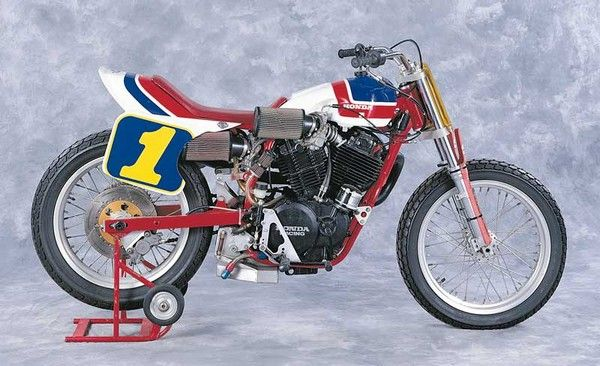 All class: Bubba Shobert's 1983 Honda RS750.
