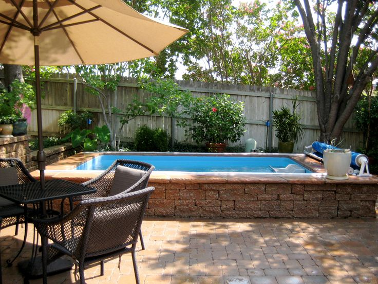 12 best small pool ideas images on pinterest endless for Allied gardens pool