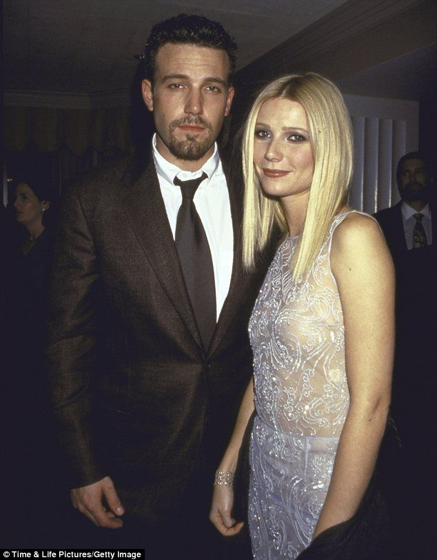 Rebound? Gwyenth dated Ben Affleck following her devastating split from Brad Pitt but has admitted she was grieving her relationship with Brad the entire time
