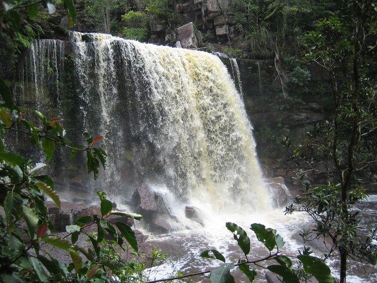 Водопад Попок Вилл на горе Пном Бокор. Красивейшее зрелище при полной воде.