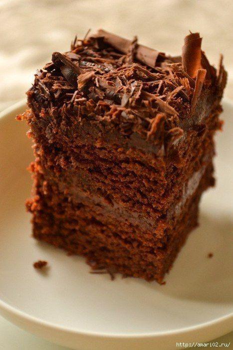 Влажный шоколадный торт.. Обсуждение на LiveInternet - Российский Сервис Онлайн-Дневников