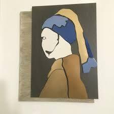 Capire ed investire nell'arte: La ragazza dall'orecchino di perla Artista Leo Bac...