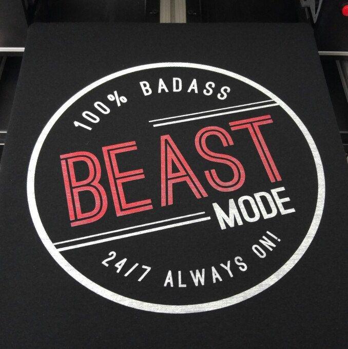 Beast Mode Badass Tshirt 👊😎