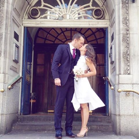 One year ago today we had our registry office wedding! i cant believe…
