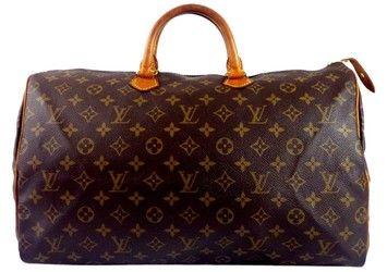 Louis Vuitton Speedy Brown Travel Bag
