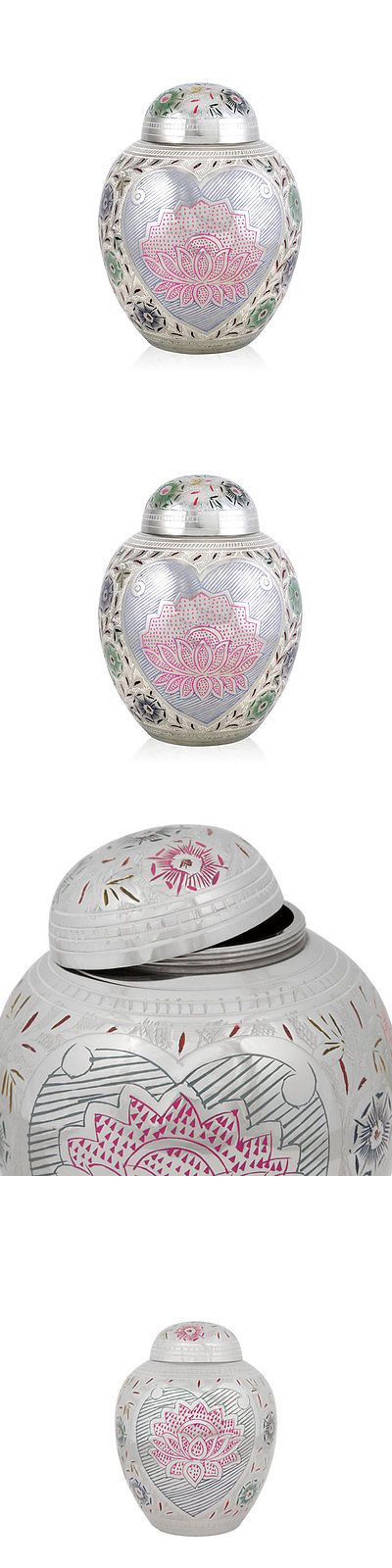 Pet Memorials and Urns 116391: Perfect Memorials Medium Lotus Blossom Pet Cremation Urn -> BUY IT NOW ONLY: $44.95 on eBay!