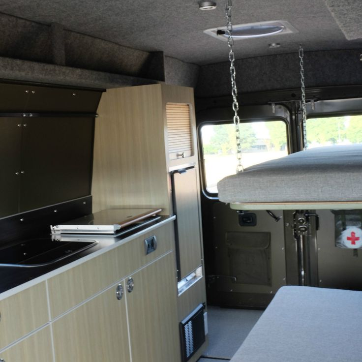 Mercedes 207D Camper Van Military Operations Vehicle Pre Sprinter Class B RV