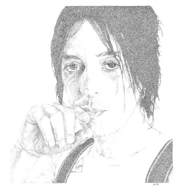 Wayne Murdoch www.sereninspired.com - pointillism