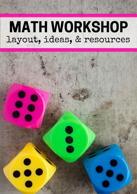 Step-by-step process for math workshop as well as fun ideas and lesson plans to run this smoothly in your primary classroom!