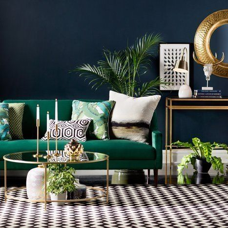 44 Elegant Green Living Room Design Ideas