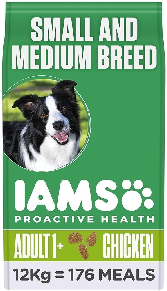 Iams Proactive Health Complete Balanced Dog Food With Chicken 12kg