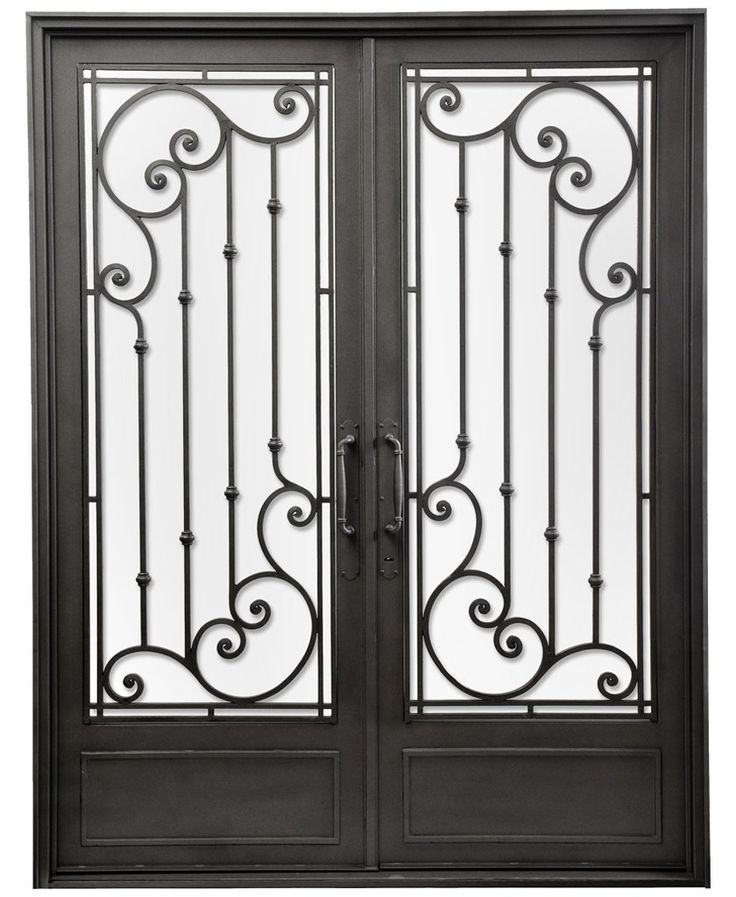 """Puerta Doble Hoja Recta """"Serena"""" - Del Hierro Design — Del Hierro Design"""