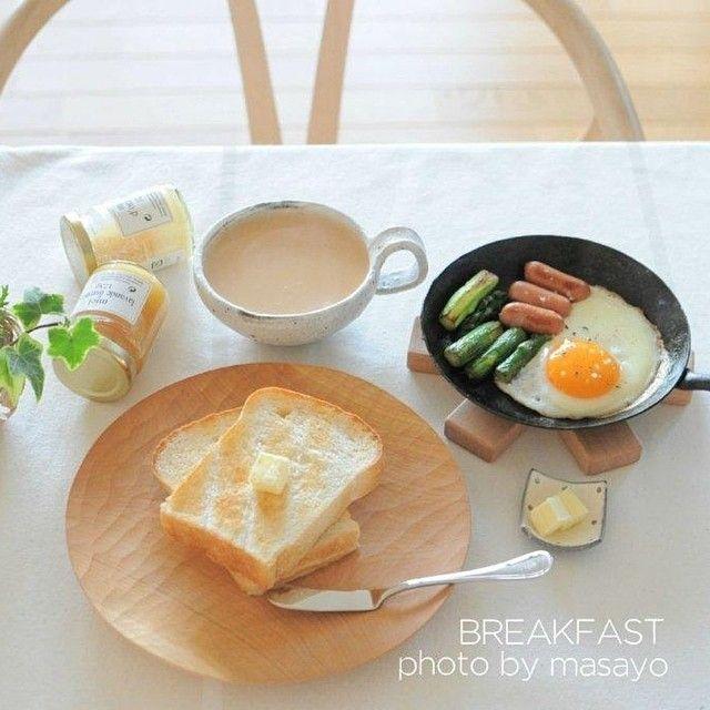 朝ごはん。 by masayo_san