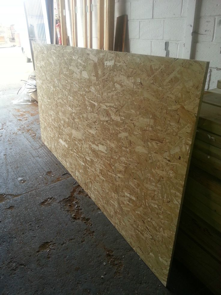 OSB BOARD external plywood sheet 8' x 4' 2440mm x 1220mm | eBay