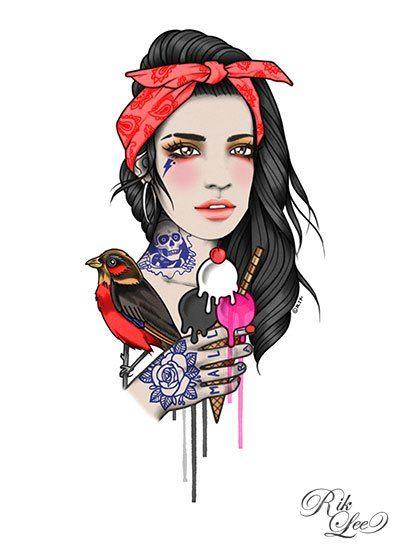 Illustrations by Rik Lee   Martineken Blog