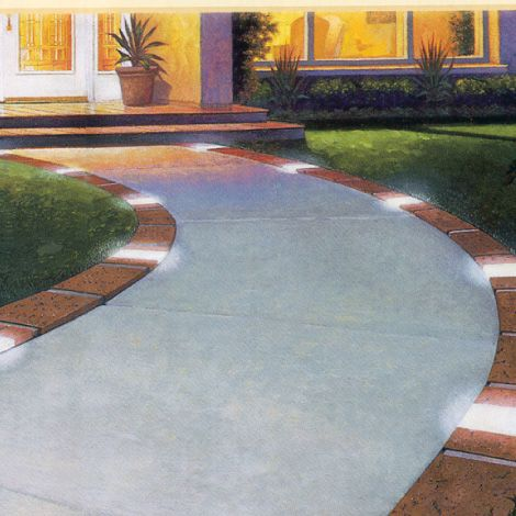 Solar Edging Kit Walkways And Driveways Outdoor Home