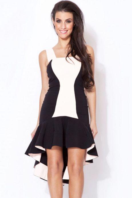 ROCHIȚĂ HIGH-LOW http://goo.gl/BRpBjz >> Click pe poza pentru a vedea pretul. #rochii #rochiideseara #fashion #dress #rochiideocazie #NFR #NewFashionRomania #declub