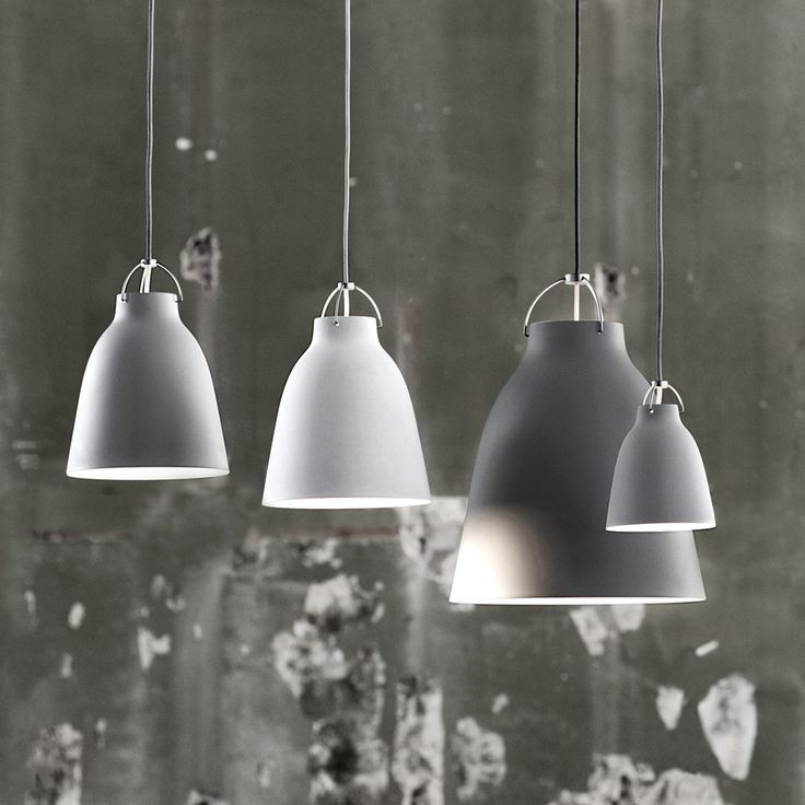 Caravaggio Pendant P2, Matt Light Grey - Cecilie Manz - Lightyears - RoyalDesign.com