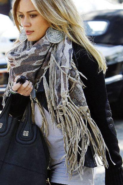 Huge scarves