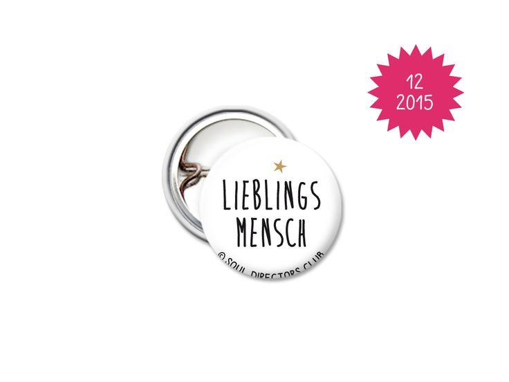 LIEBLINGSMENSCH - Button