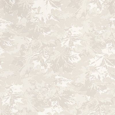 Lonn (292-04) - Duro Wallpapers - An all over wallpaper design featuring various motifs of fallen leaves. Shown here in various shades of metallic silver. Other colourways are available. Please request a sample for a true colour match. Paste-the-wall product.